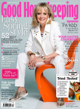 Good housekeeping cover magazine